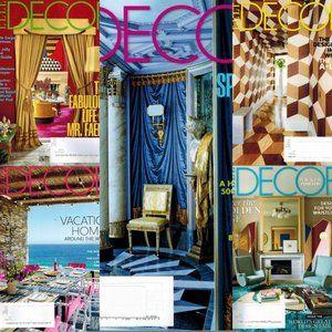 5 Elle Decor Magazines 2018 All Unread